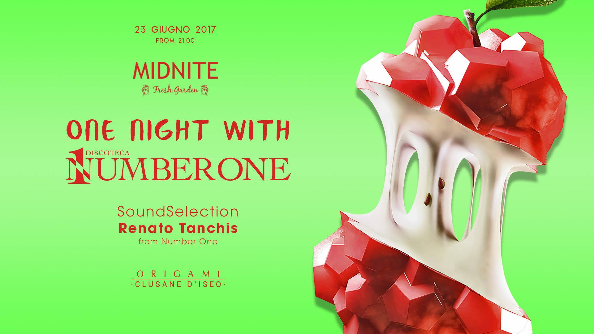 Midnite FG with Number One / Free Entry / Origami