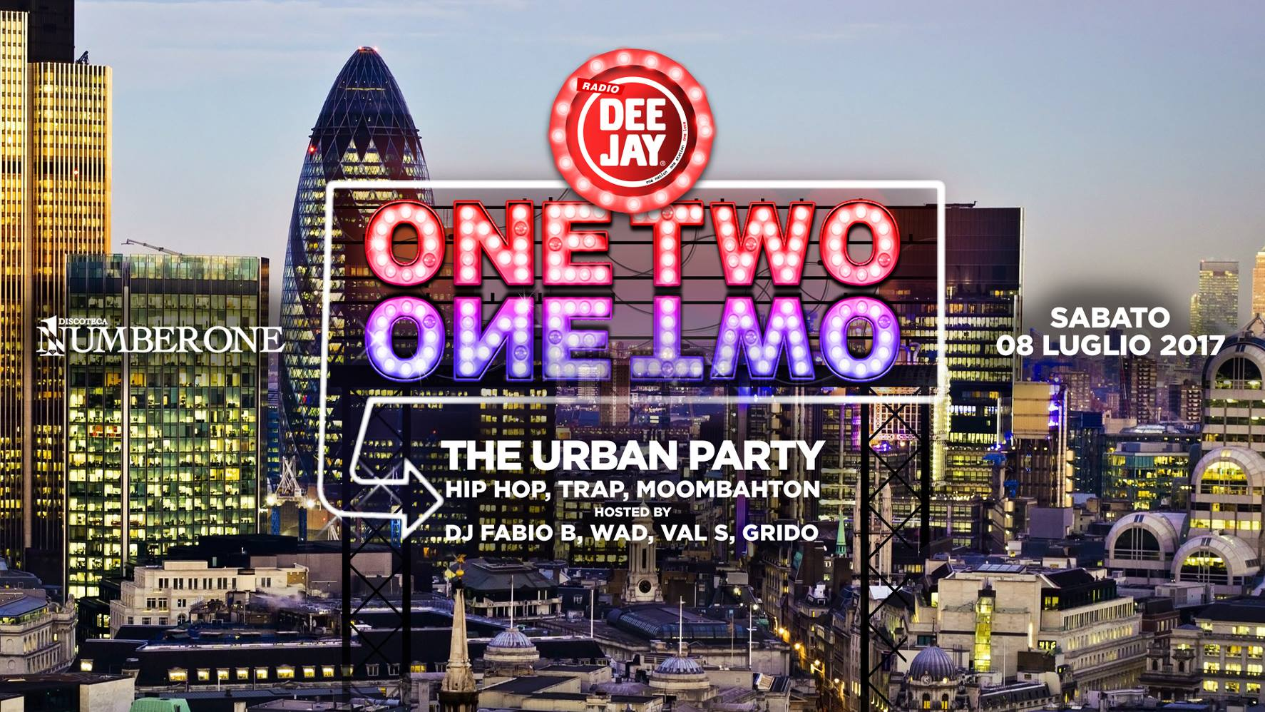 Radio Deejay presents One Two One Two