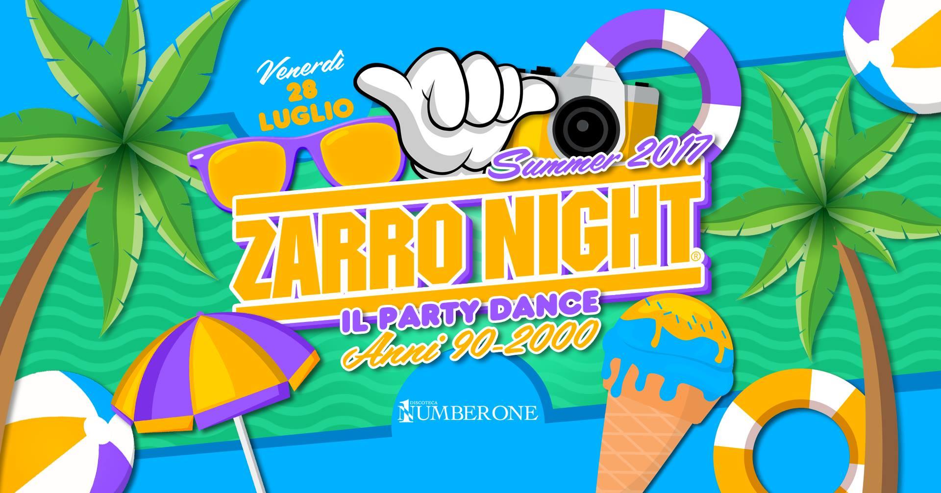 ZARRO NIGHT Summer 2017