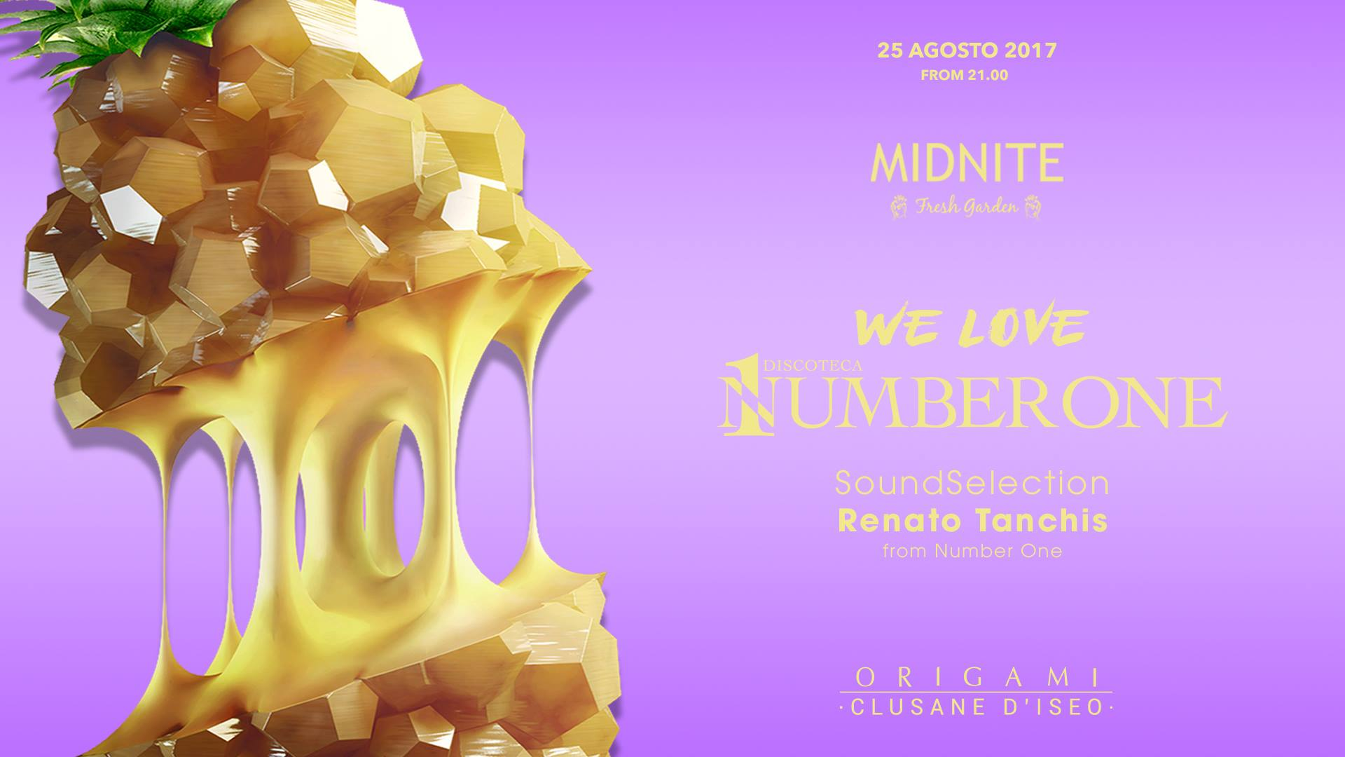 Midnite Fresh Garden / We Love Number One / Free Entry / Origami