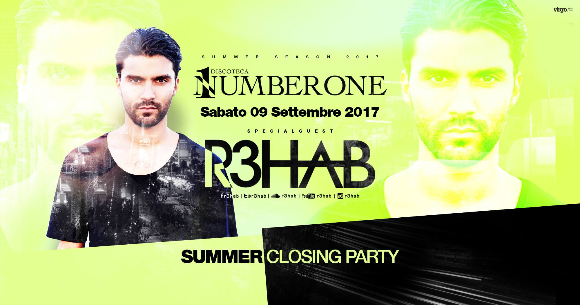 R3HAB ◆ Summer Closing Party ◆
