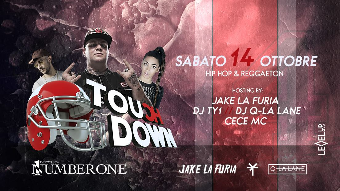 Jake La Furia 〜 Touch Down