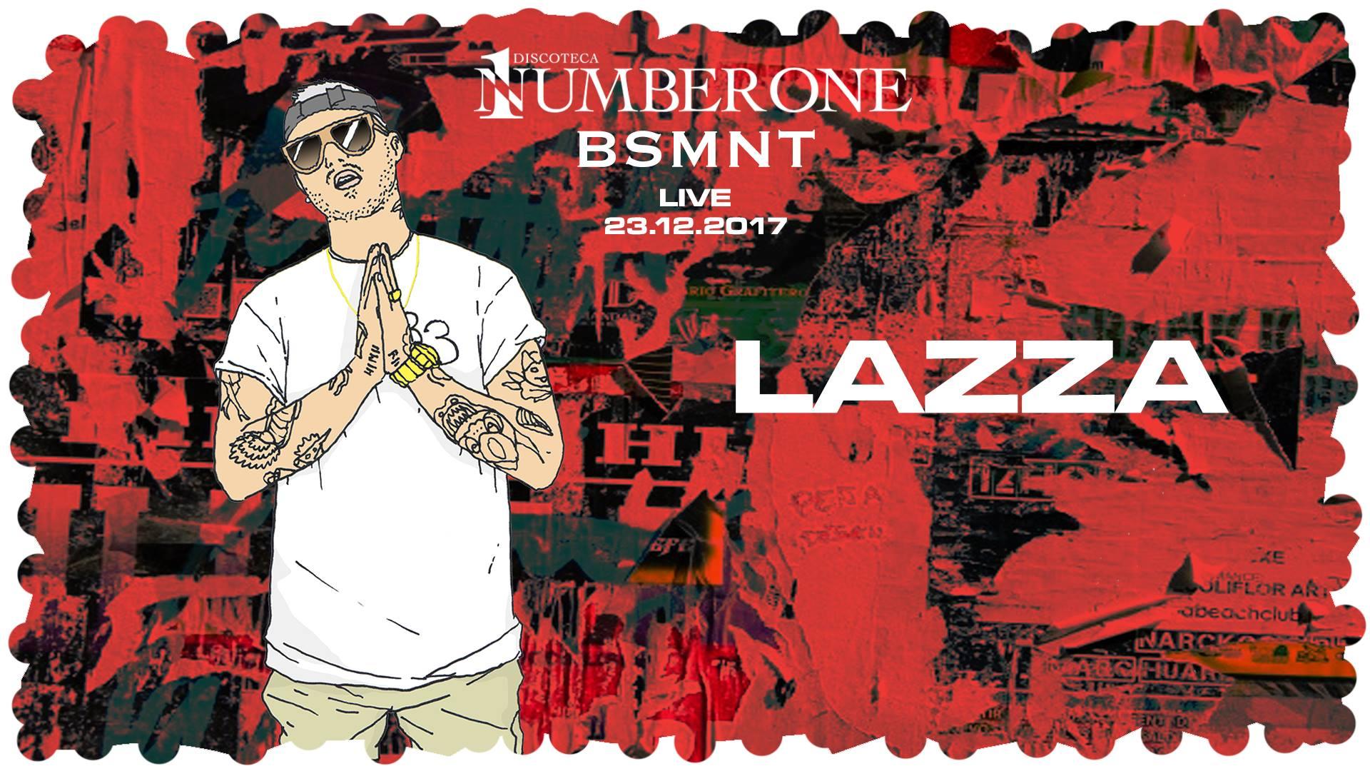 Basement live – Lazza