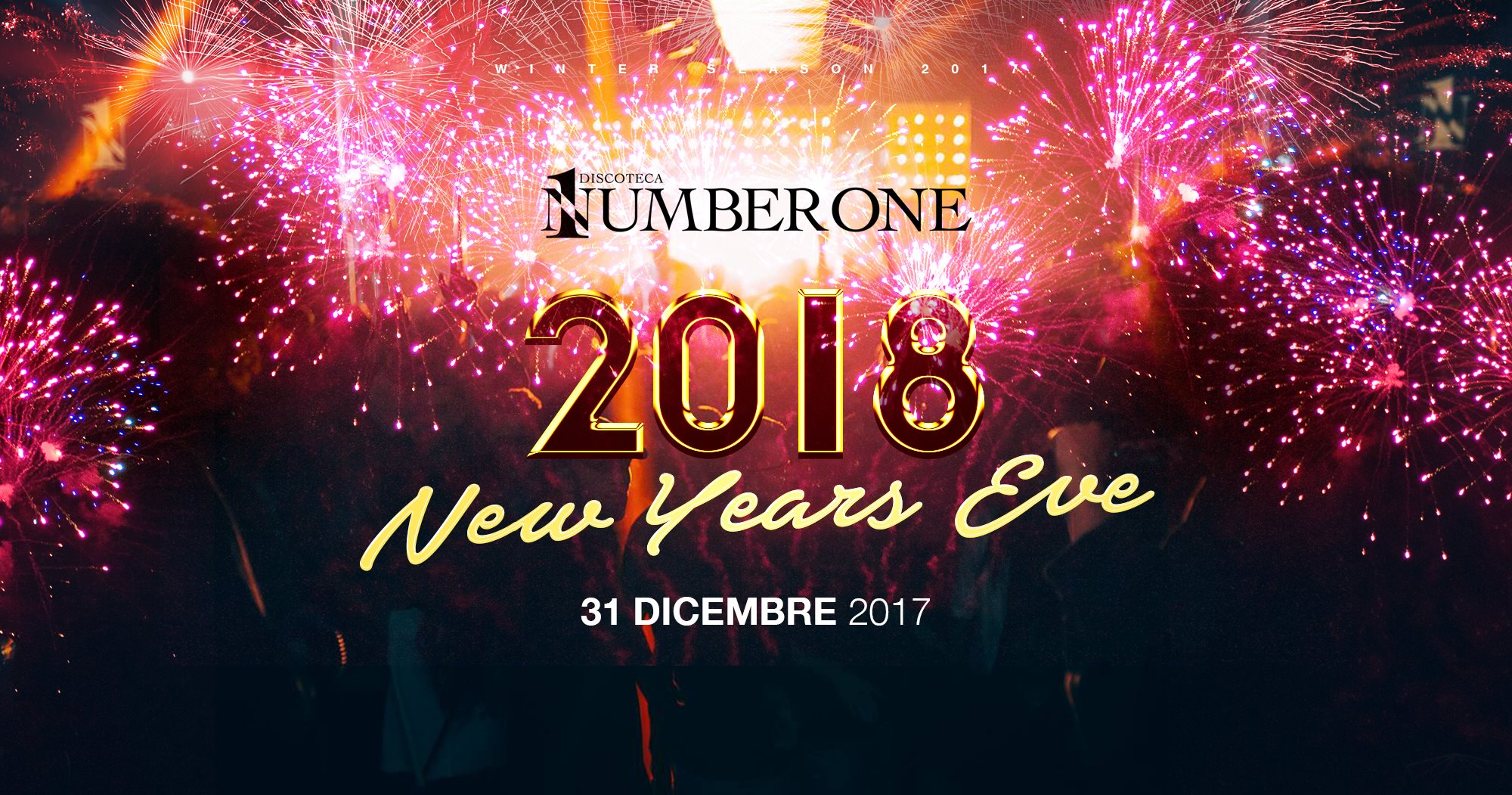 Capodanno 2018 al Number One
