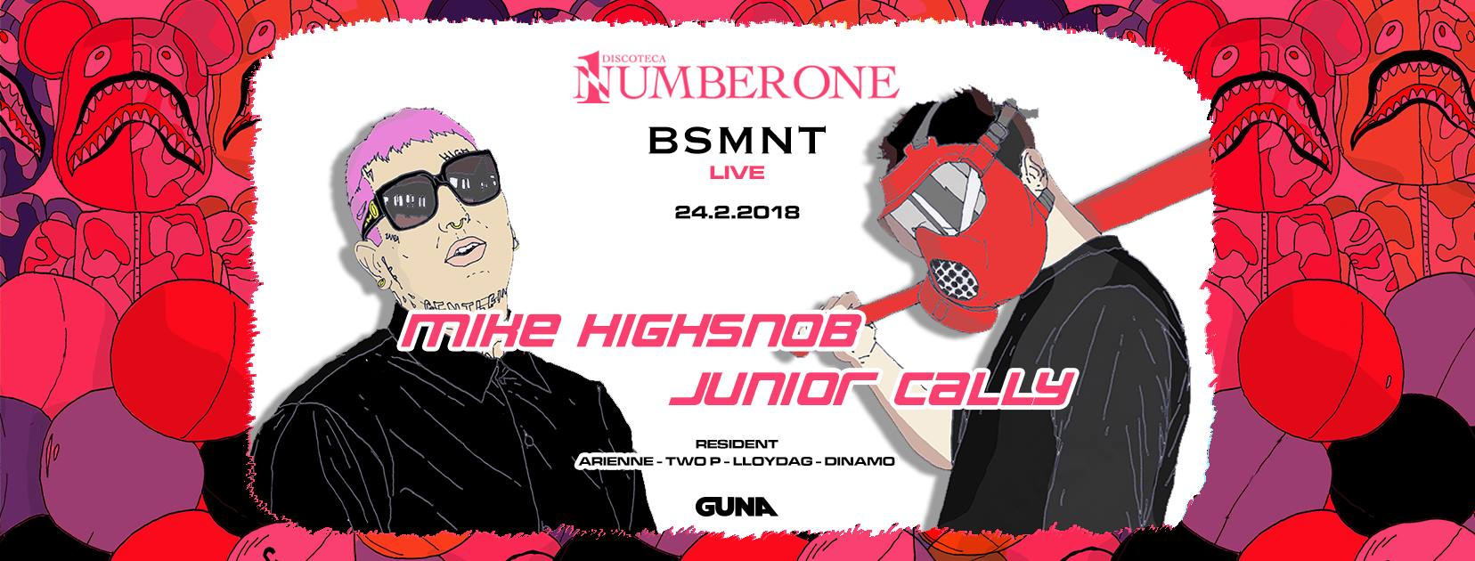 Basement & Number One: JuniorCally – MikeHighsnob