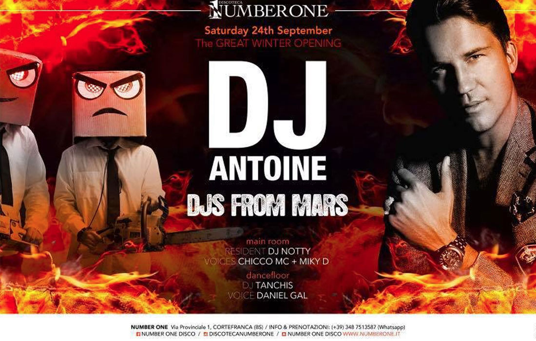 Dj Antoine + Djs from Mars