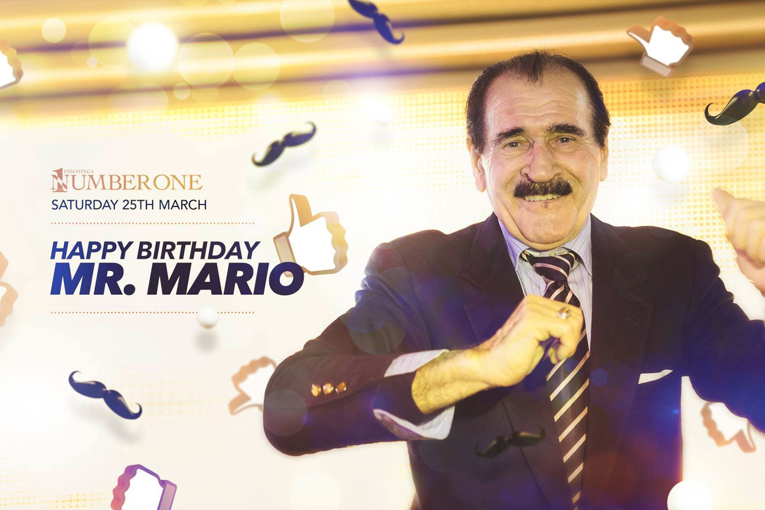 Happy Birthday Mr. Mario