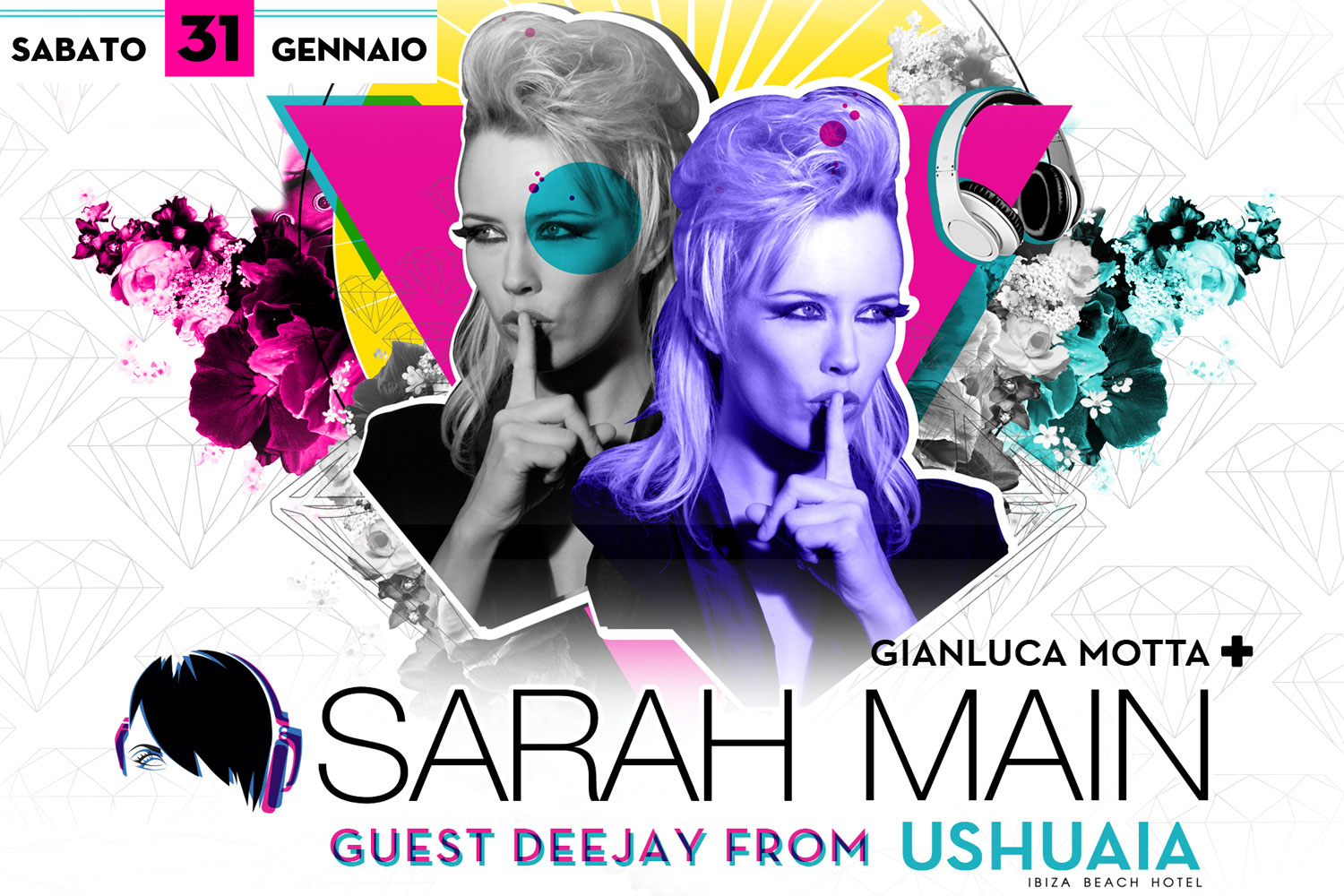 Sarah Main from Ushuaia & Gianluca Motta