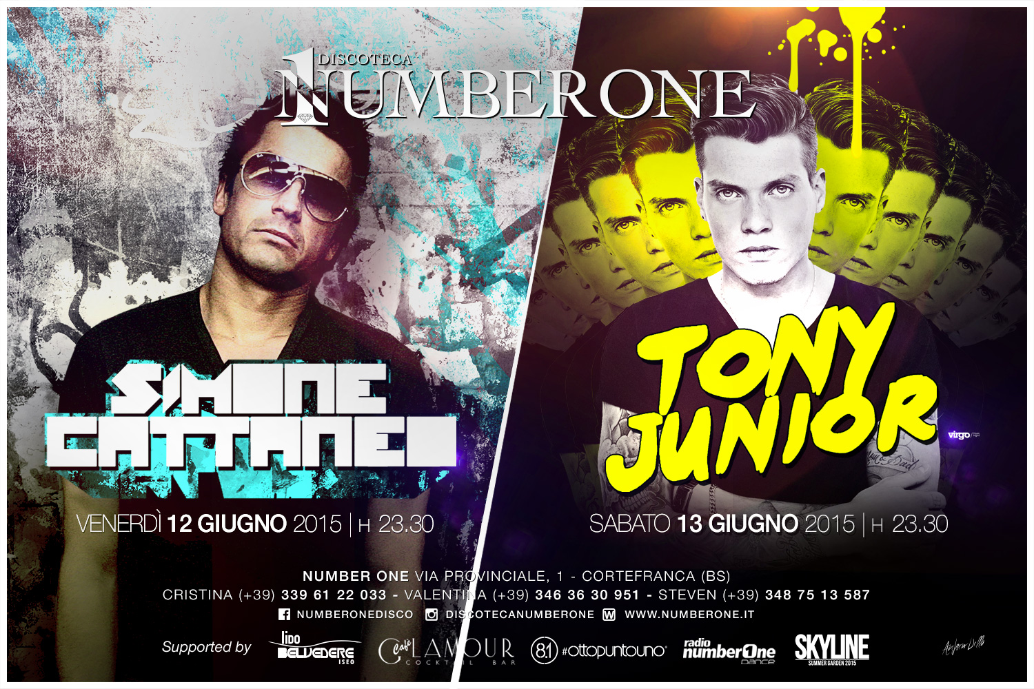 Simone Cattaneo & Tony Junior