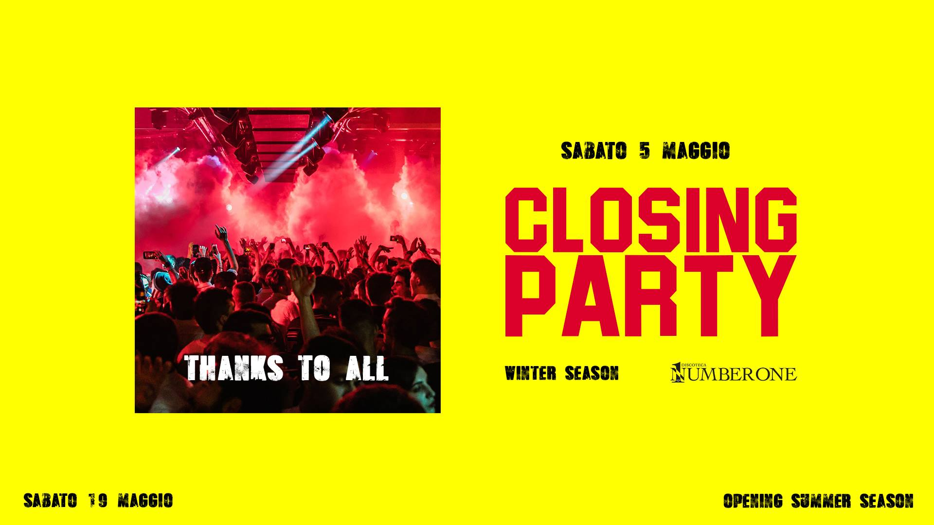 Closing Party – Winter Season