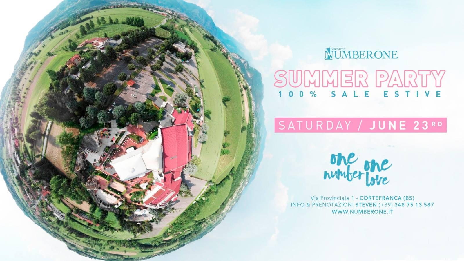 Summer Party ・ 100% Sale Estive