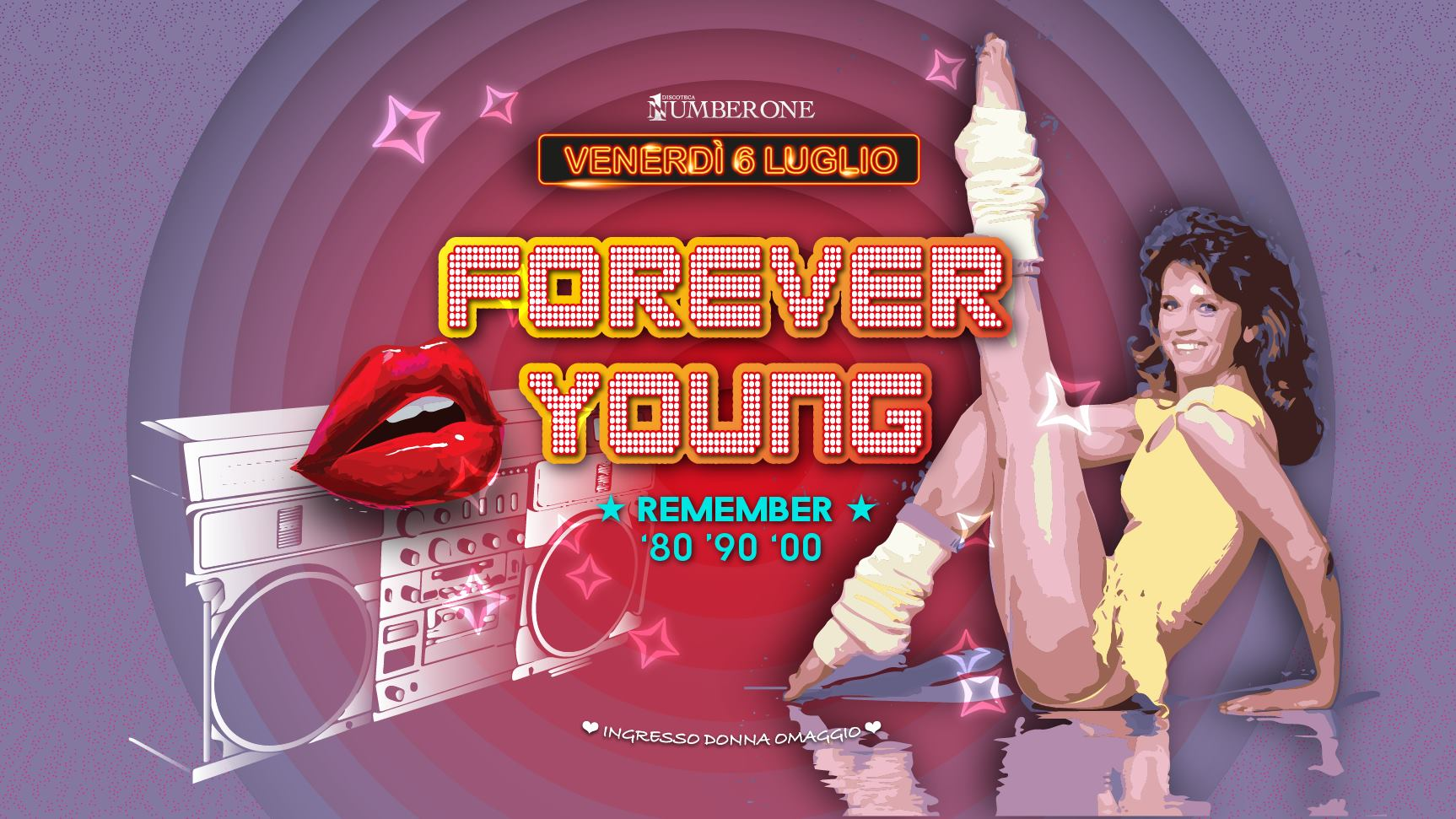 Forever Young – Il Venerdì Number One