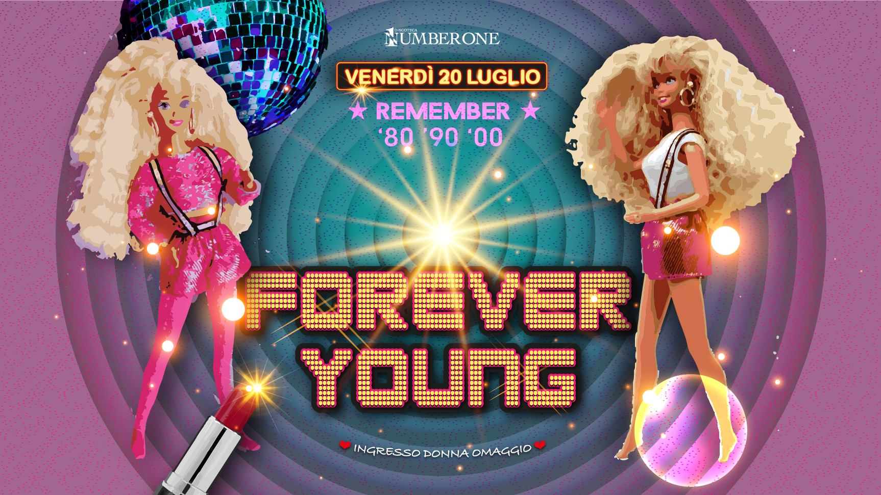 Forever Young il venerdì notte del Number One