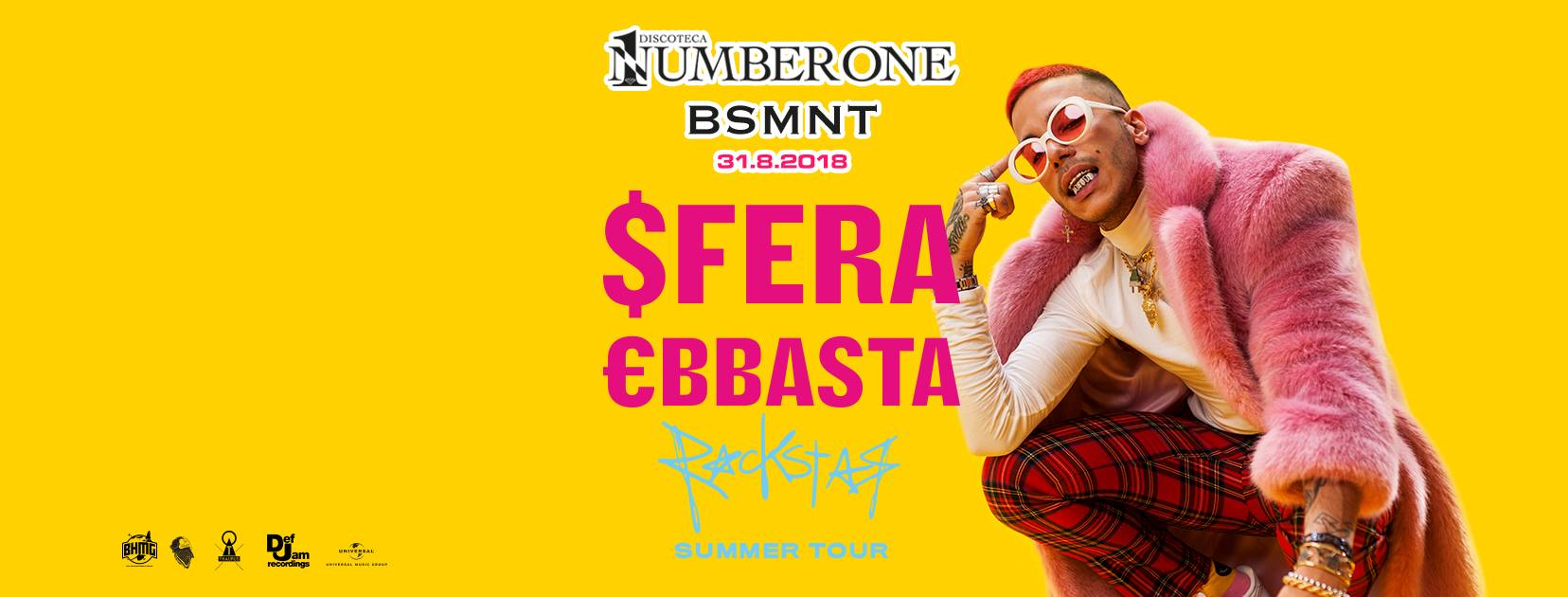 Number One & Basement – Sfera Ebbasta – Florida Ghedi BS 31.8.18
