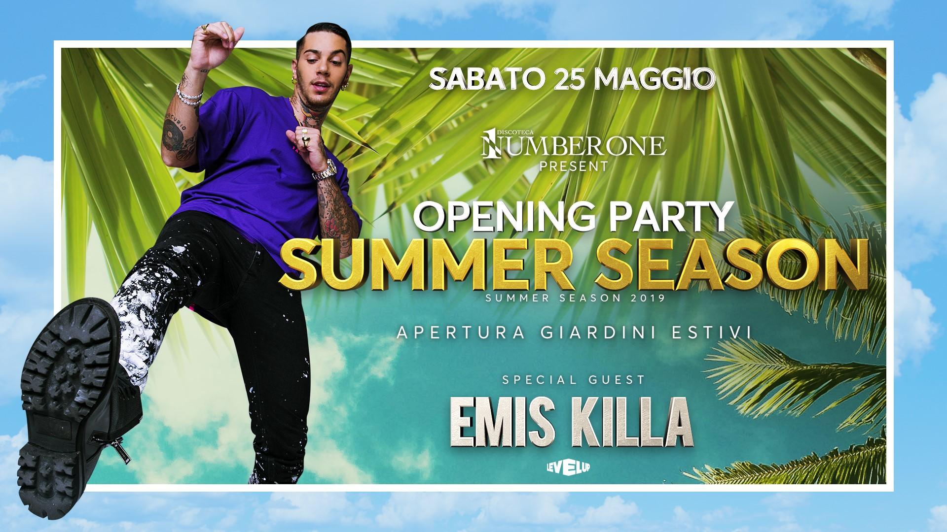 Opening Party Summer Season – EMIS KILLA