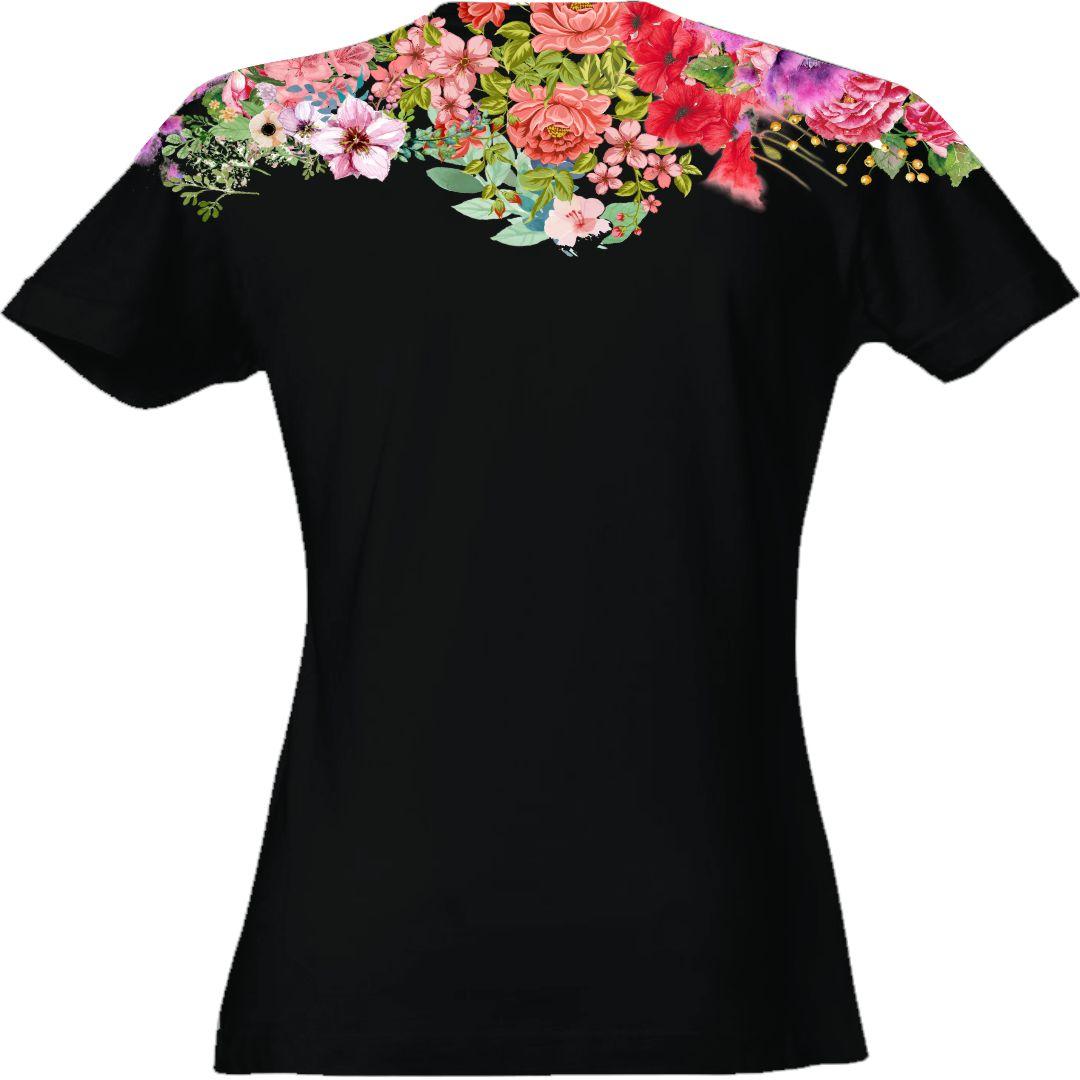t-shirt-donna-leone-retro-nera