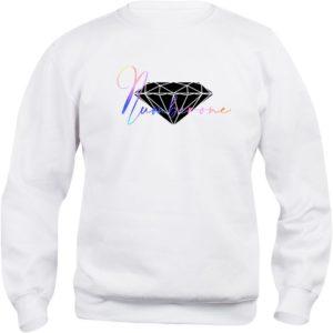 felpa-girocollo-uomo-donna-scritta-diamante-bianca