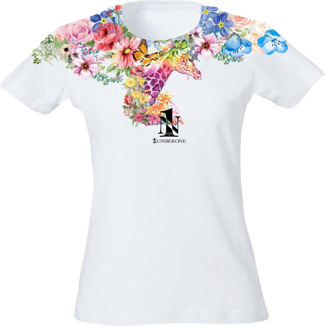 t-shirt-donna-giraffa-fronte-bianca
