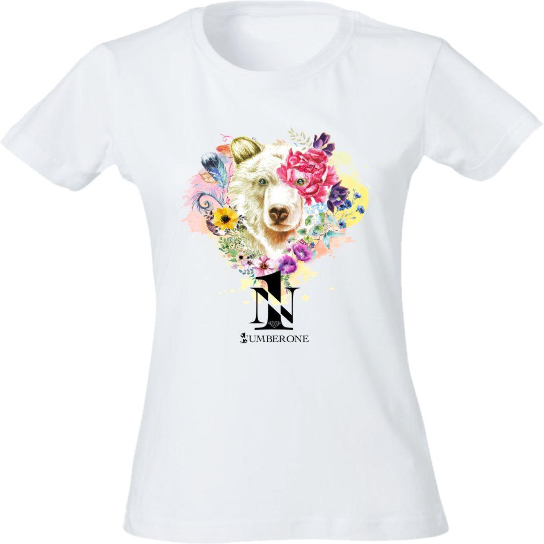 t-shirt-donna-orso-bianca