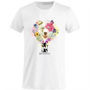 t-shirt-girocollo-manica-corta-uomo-orso-bianca