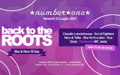 Back to the Roots – Ska & Nico B'day